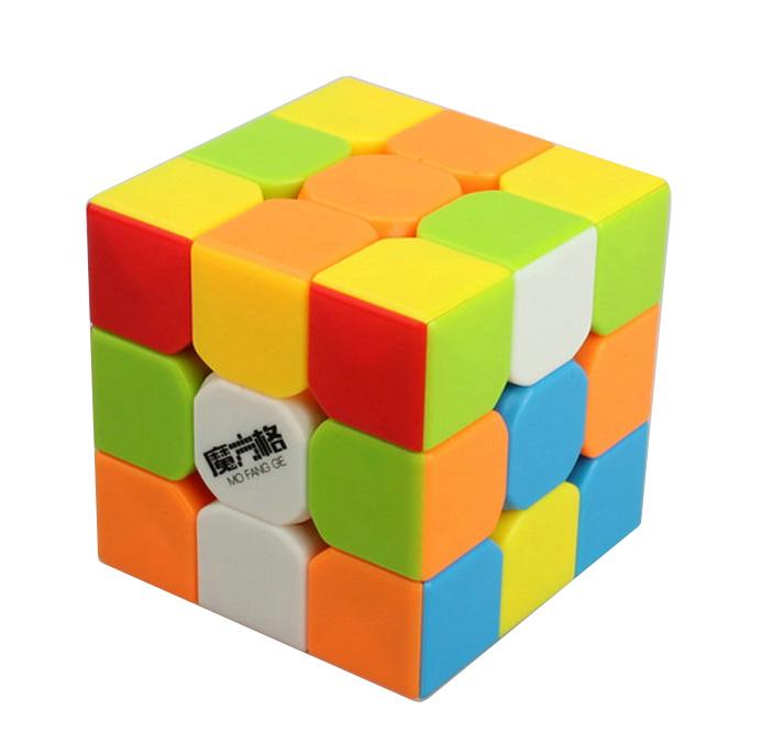 QiYi 3x3x3 Thunderclap Stickerless Magic Speed Cube Puzzle with Bag(China (Mainland))