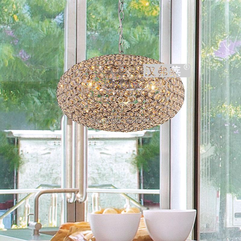 Arts creative moderne et minimaliste k9 lustre en cristal for Salle a manger cristal