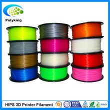 1KG/Spool HIPS Filament For MakerBot RepRap UP Mendel 3D Printer Filament 1.75mm 3mm 3D Printer Filament Consumables Material