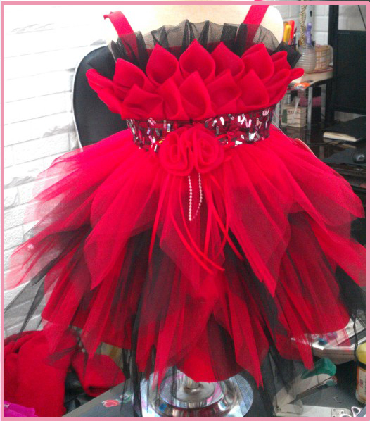 Гаджет  Girl Princess Dress 2015 New Arrival Fashion Brand Children Girls Fire Red Tulle Dress Hot Saling Baby Kids Clothing None Детские товары