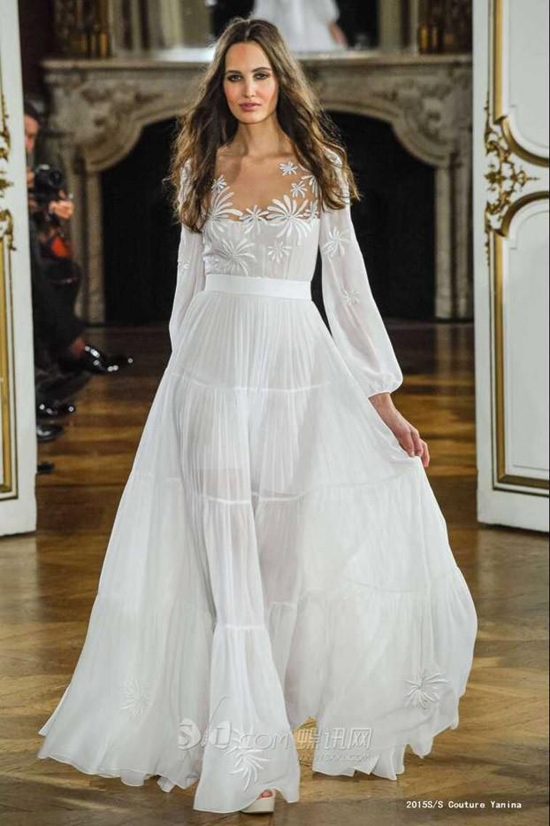 Fashion Blog: Long White Summer Dress