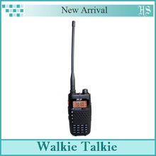 New Black Walkie Talkie TYT TH-UV6R 5W 256CH Scrambler FM Radio Dual band Dual Display Standby VOX Flashlight DTMF Two Way Radio