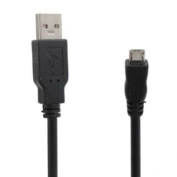 Dalhart Black Micro USB Port Line Cable With Magnet Loops For Tablet(China (Mainland))