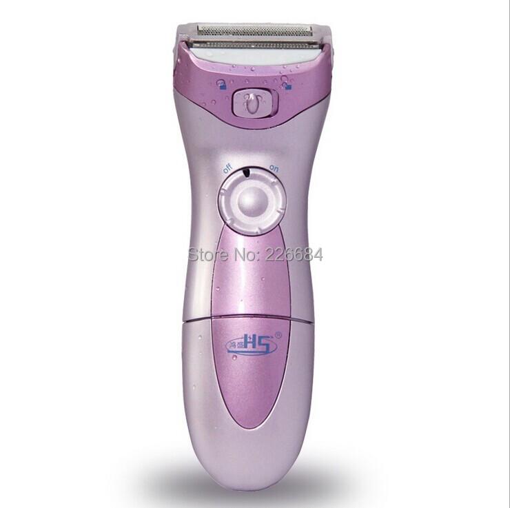 Lady shaver Epilator Electric shavers for women Bikini Underarm Shaving Hair Removal Waterproof depilation Battery power(China (Mainland))