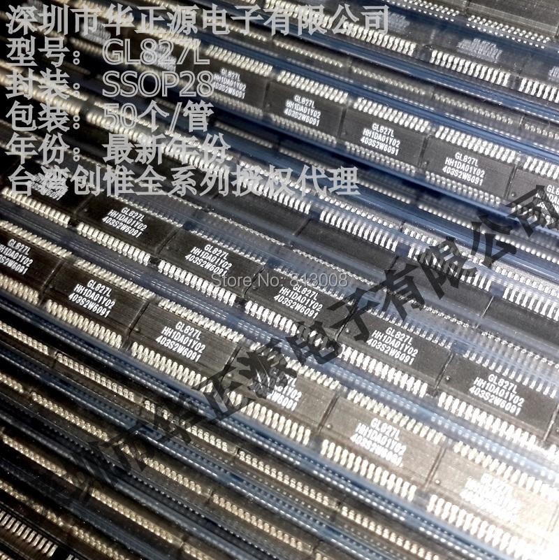 Free Ship 10PCS GENESYS GL GL827L GL827 SSOP28 SSOP 28Pin USB CHIPS Card reader IC 100% New Original Guniune Distributor On Sale(China (Mainland))