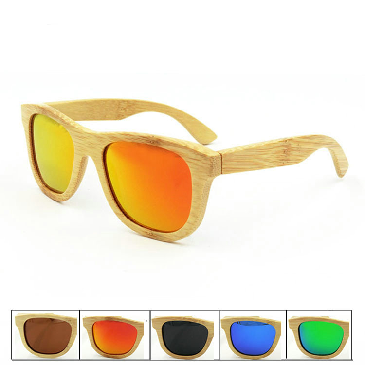 Bamboo Sunglasses Men Polarized Sun glasses Women Brand Designer Mirror Wood Glasses Oculos de sol masculino High Quality UV400 Одежда и ак�е��уары<br><br><br>Aliexpress