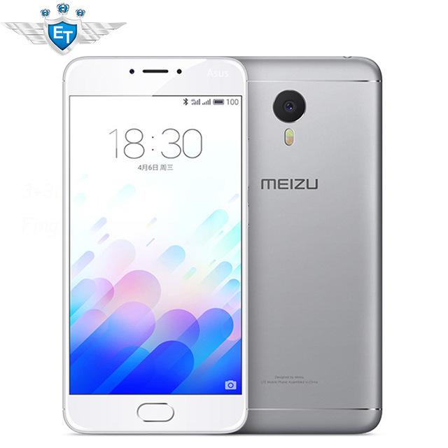 "Original Meizu M3 Note Prime 4G LTE Cell Phone Android 5.1 MTK Helio P10 Octa Core Fingerprint 4100 mAh 5.5"" 1920x1080 3GB 32GB"