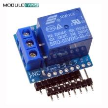 ESP8266 Relay Shield V2 WeMos D1 Mini ESP8266 Development Board For WeMos D1 Mini Relay Module For Arduino Free Shipping ESP8266(China (Mainland))