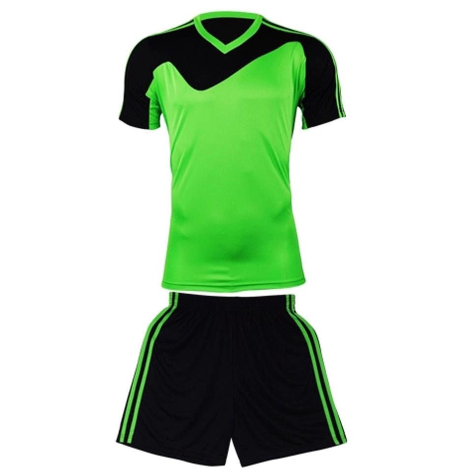 New arrival paintless short-sleeve mens boys football soccer jersey blank football kit uniforms full set short & shirts hot(China (Mainland))