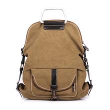 Squirrel fashion vogue casual canvas pattern brand denim men messenger bag briefcase versatile business male vintage men's bag