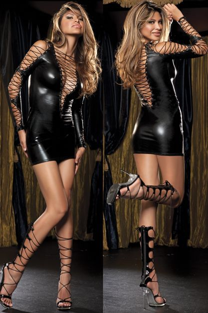 Black Leather Sexy Body Suits for Women Bandage PVC Erotic Leotard Costumes Latex Bodysuit Catsuit Women Wet Look Bodycon Wear(China (Mainland))
