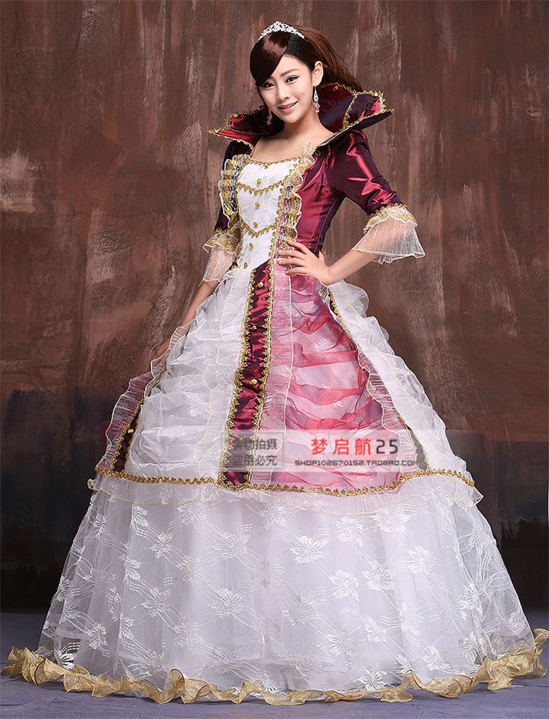 Dorable Victorian Ball Gown Costume Sketch - Ball Gown Wedding ...