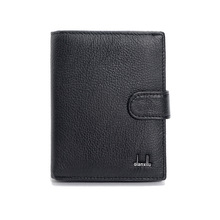 Genuine Leather Mens Passport Holder Wallets Man Cowhide Passport Cover Purse Brand Male Credit&Id Car Wallet(China (Mainland))