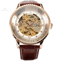 Classic Luxury Ks Royal Golden Big Case Automatic Mechanical Skeleton Wrap Gift Relogio Self Wind Men