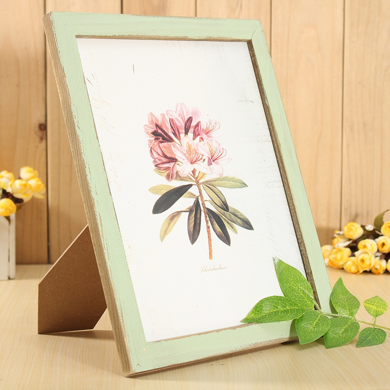 Online buy wholesale shabby chic picture frames from china for Shabby chic frames diy