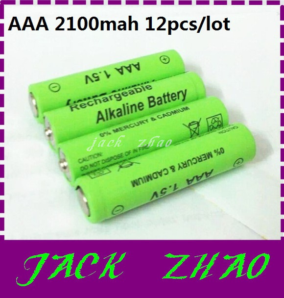Quality 1 2100mah aaa Alkaline rechargeable battery 1.5v baterias flashlight Remote Control Toy cameras - WE Need it! store