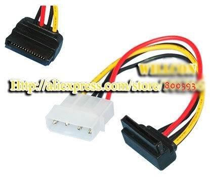 100pcs/lot,Brand New Computer Cable 4-Pin IDE To 15 Pin SATA HDD external Power Adapter Cable for Serial ATA Hard drive&CD ROM(China (Mainland))