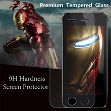 100pcs ultra thin 0.3mm explosion proof tempered glass screen protector guard film for iphone 4 4S 4G Toughened glass
