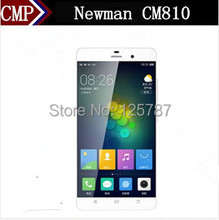 Original Newman CM810 4G FDD LTE Mobile Phone Snapdragon 615 YunOS 3.0 5.5 Inch 1920X1080 2GB RAM 16GB ROM 13.0MP Fingerprint(China (Mainland))