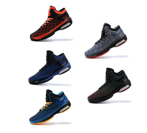 2015 cheap Men top Quality Damian Lillard Wiggins Rubio play off all star basketball Shoes crazy light Size 7-12 free shipping(China (Mainland))