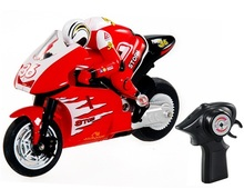 Radio Toys 8012 1:32 Scale Wireless Radio Control Stunt RC Racing Motorcycle Model (Red)(China (Mainland))