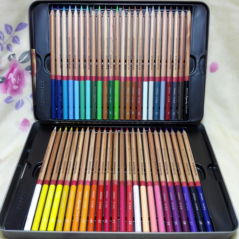 Marco Professional 24/36/48/72 Color Pencils Drawing Colored Pencil School art Pencil;Smooth Texture;Creamy Lead;Rich Pigments;(China (Mainland))