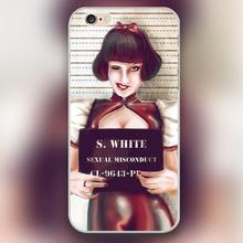 Snow white's Prison photo Design transparent case cover cell mobile phone cases for iphone 4 4s 5 5c 5s 6 6s 6plus hard shell