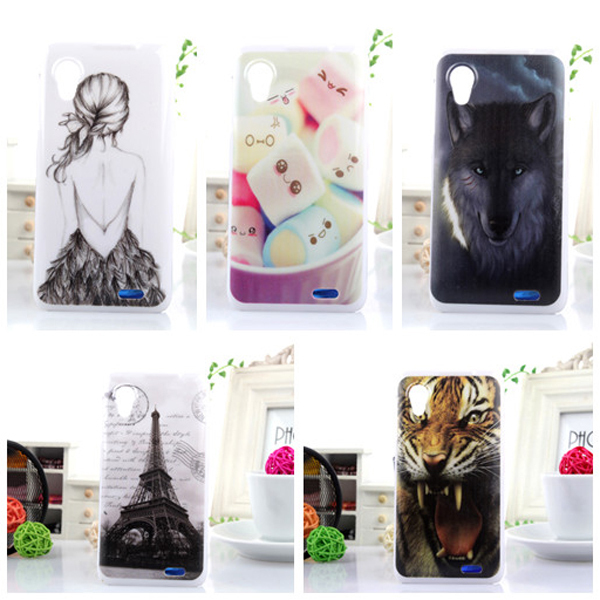 9 pcs/lot High Quality Cute PC Plastic Cover Skin Protection Painting Hard Housing Shell Back Case For Lenovo P770(China (Mainland))