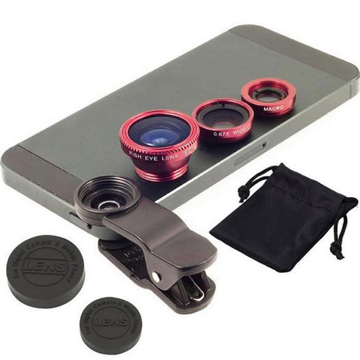 Universal Clip-on Fish Eye Macro lens Wide Angle Mobile Phone Lens for all iPhone 4 5 6 Samsung S4 S5 note2 3 MOTOROLA