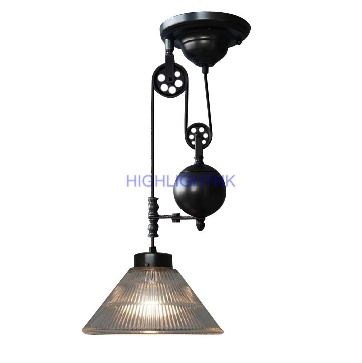 Up And Down Adjustable Edison Retro Industrial Countryside