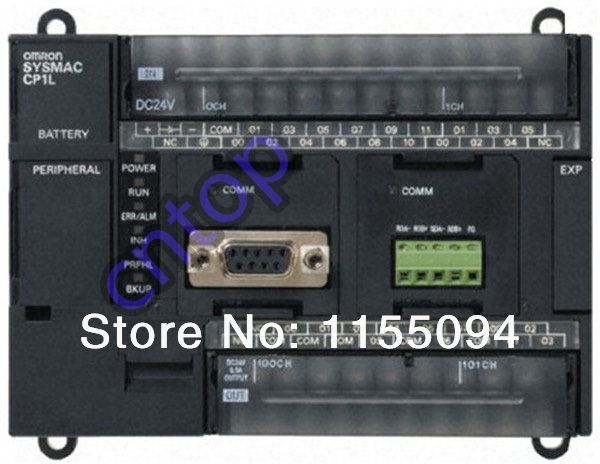 Free shipping New CP1L-EM30DT-D OMRON PLC with CPU DC input 18 point transistor output 12 point<br>