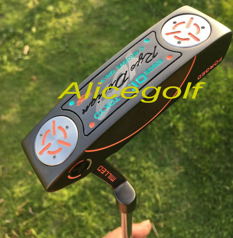 2016 authentic golf putter real Tokyo milled forged putter with USA Flags putter original golf clubs <br><br>Aliexpress