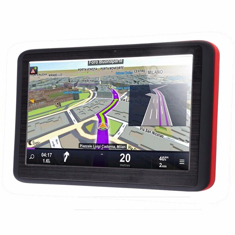 Купить Автомобильный GPS Навигатор 5 Дюймов HD Грузовик Автомобиль GPS Навигатор Сб Nav FM 128 МБ Карта Европы Россия Франция Беларусь Австралии UA NZ/США + CA