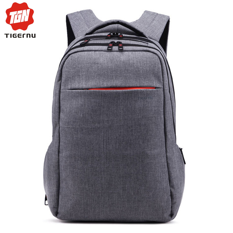 Tigernu 15 Inch Laptop Computer Notebook Backpack Men Brand Men's Backpacks Designer Grey Travel Business Backpack High Quality(China (Mainland))