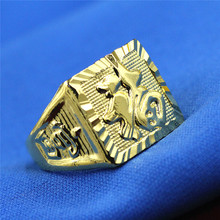 Buy Free shipping fashion jewelry Everyone gilded man ring domineering personality man ring 13mm & 16mm for $1.20 in AliExpress store