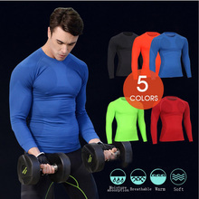 Buy Men's Cycling Jersey clothing Shirt Long Sleeve Bike Bicycle Base layer Underwear Winter Sports Wear Clothes Compression tights for $11.22 in AliExpress store