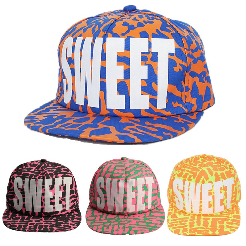 2015 New Fashion Women Cotton Snapback Fitted Baseball Cap Sweet Fluorescent 4 Colors Casual Hip Hop Letter Adjustable Caps Hats(China (Mainland))