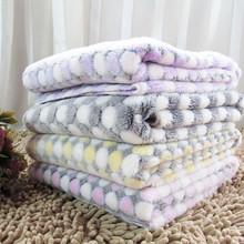 Warm Blanket Pet Dog Blanket Pad warm winter coral fleece blanket thickening cama de cachorro bath towel toalla pet perros dog(China (Mainland))