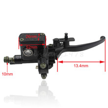 23mm 7/8″ Black Right Hydraulic Brake Master Cylinder Lever 50 70 90 110 125CC ATV Quad Pit Bike Taotao Sunl Orion X Motor BSE