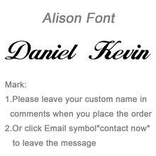 ๆส่วนบุคคลชื่อสร้อยคอจี้ Alison ตัวอักษรที่น่าสนใจจี้ custom ชื่อสร้อยคอสร้อยคอ(China)