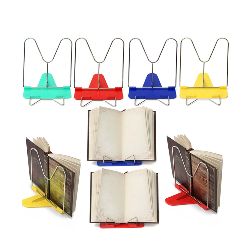Convinient High Quality Adjustable Durable Angle Foldable Portable Reading Book Stand Document Holder Desk Office Supply NEW(China (Mainland))