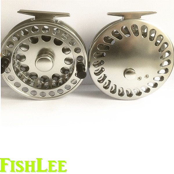 () centerpin floating reel/2 Chinese stainless steel bearings/Gun smoke color - Xinghua Jiecheng Fishing Tackle Factory store