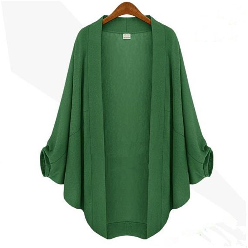 Shirts Women Large Size 5xl Cardigan 2016 Summer Women Blouses Fashion Batwing solid blusas y camisas mujer blouse Femme blouse(China (Mainland))