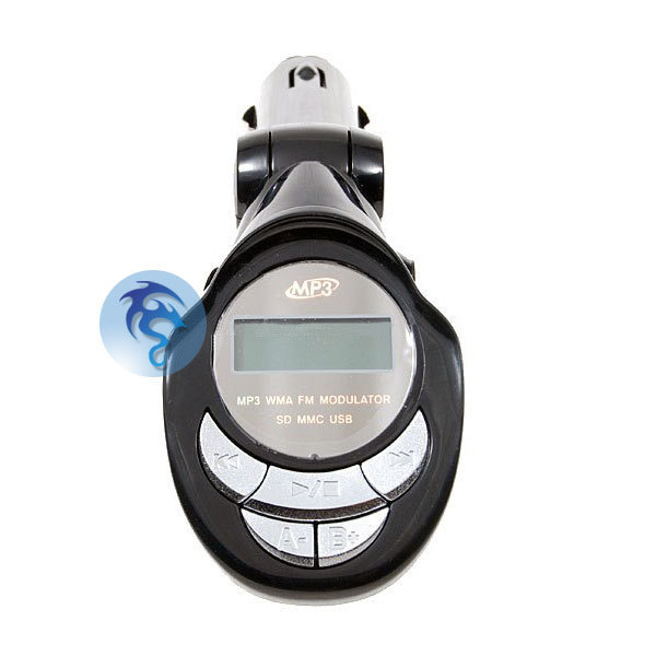 Car Automobile MP3 Music Player Kit USB SD SDHC FM Transmitter Remote Controller
