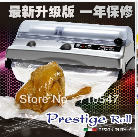 Automatic One-Touch household Magic Vac Prestige Roll Vacuum Sealer vacuum package machine FCH57D(China (Mainland))