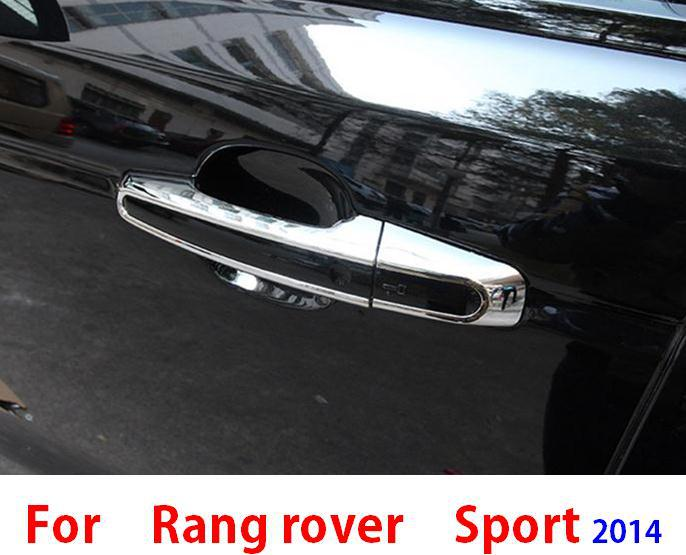 car Chromium Styling Exterior Accessories for 2014 2015 range rover sport handles cover fram trim stickers<br><br>Aliexpress