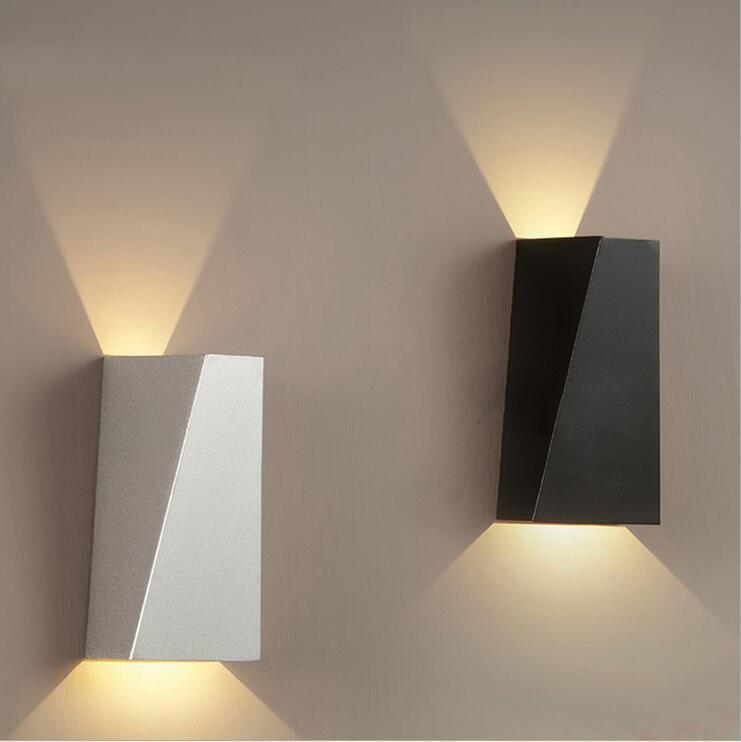 10W Nordic Wall Lamp Bathroom Mirror Light Fixtures Decoration Living Room Modern Design Led Reading Lamp White/Black(China (Mainland))