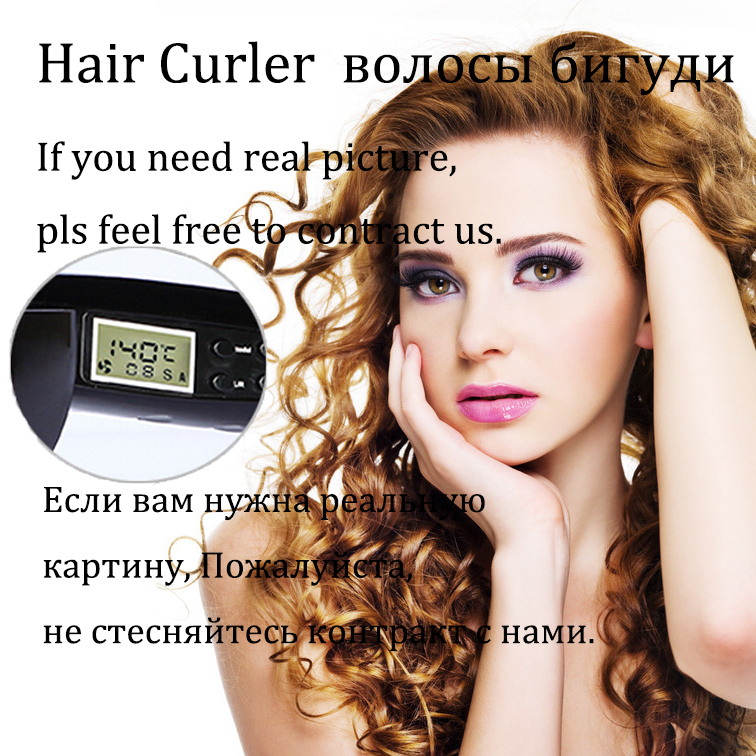 2015 Pro automatic hair curler hair roller hair styling tools curling iron for hair care with LCD screen digital display 1012<br><br>Aliexpress