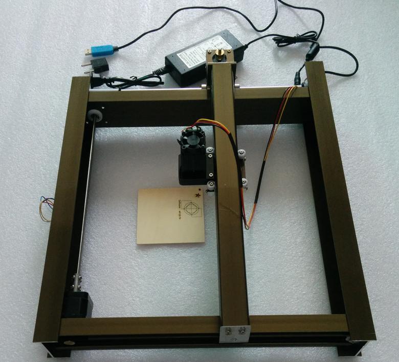 Как сделать своими руками лазерный гравировальный станок 65