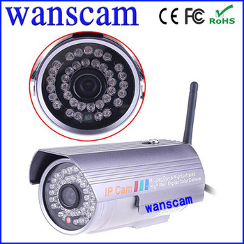 Plug&Play WiFi Wanscam CCTV Security IP Network Home  IR Night Vision Camera access control Module Outdoor Waterproof